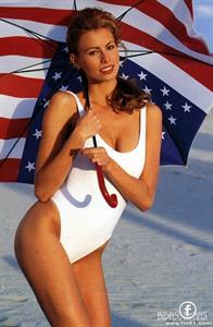 Niki Taylor in a bikini
