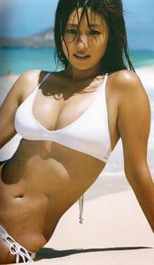 Kyoko Fukada in a bikini