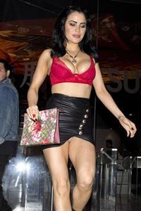 Carla Howe Nip Slip Upskirt Night Out Hollywood