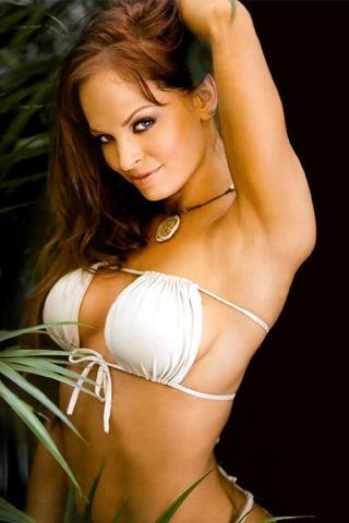 Christy Hemme in a bikini