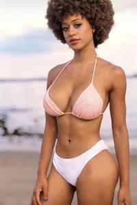 Stormi Maya in a bikini