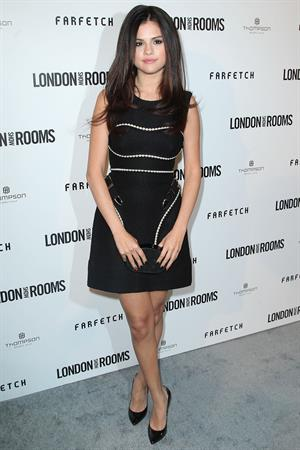 Selena Gomez British Fashion Concil's International Showcasing Initiative London Show Room's in LA on April 9, 2013