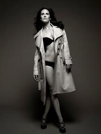 Annabeth Gish in lingerie