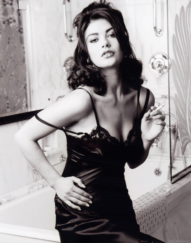 Catherine Zeta Jones in lingerie