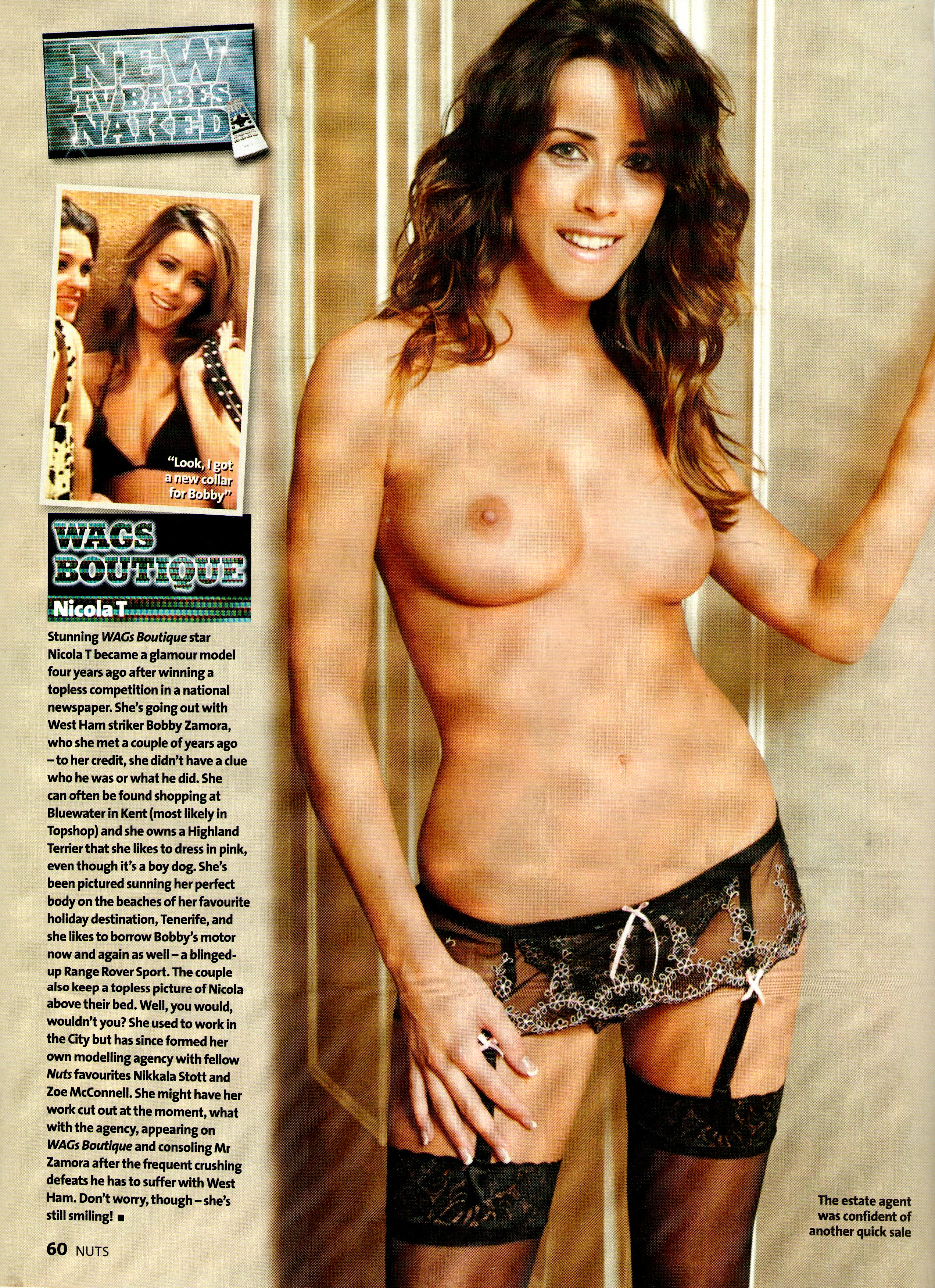 Nicola tappenden topless pictures
