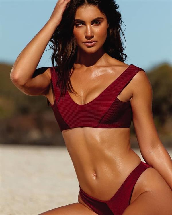 Stephanie Rayner in a bikini
