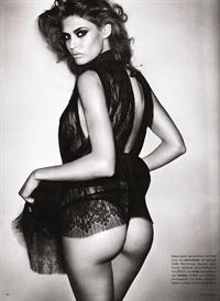 Bianca Balti in lingerie - ass