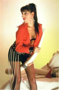 Rossy de Palma in lingerie