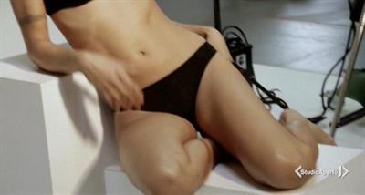 Elisabetta Canalis in lingerie