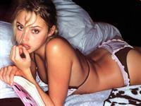 Estella Warren in lingerie