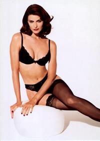 Joan Severance in lingerie