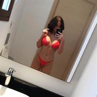 Vicky Pattison in a bikini taking a selfie
