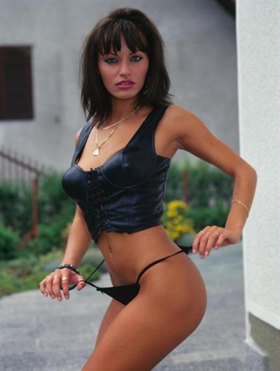 Anita Blonde in a bikini