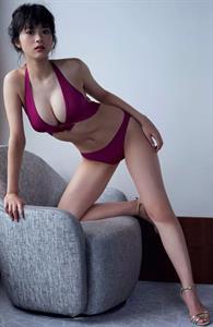 Fumika Baba in a bikini