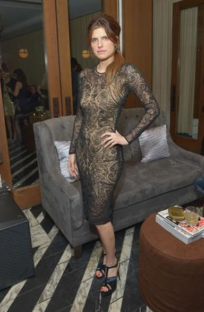 Lake Bell Vanity Fair And The Fiat Brand Celebration Of  Una Notte Verde  on February 21, 2013