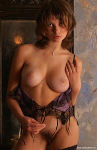 Katia Galitsin - pussy and nipples