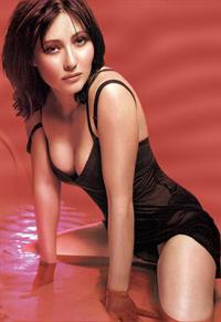 Shannen Doherty in lingerie