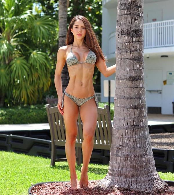 Silvy Araujo in a bikini