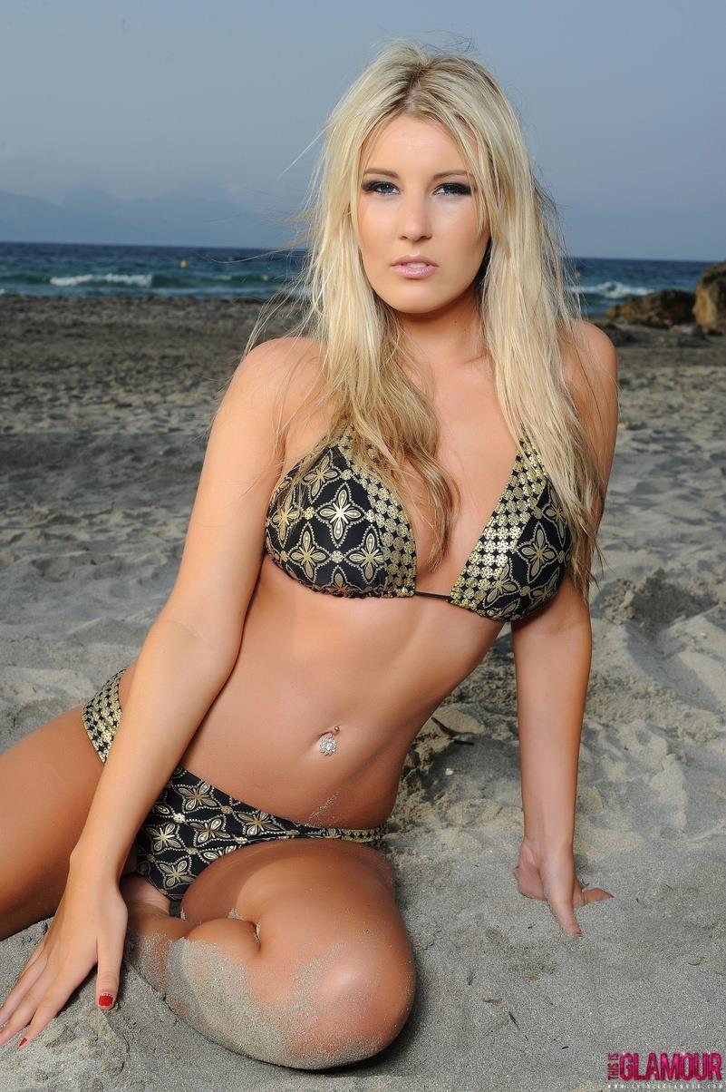 Rosy O'Brien in a bikini
