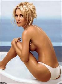 Kelly Carlson in lingerie