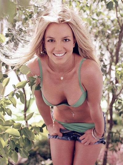 Britney Spears in a bikini