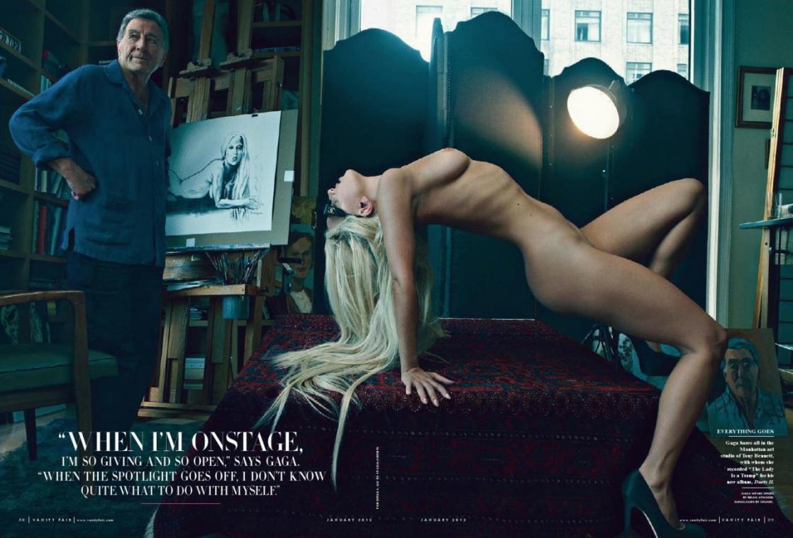 Lady Gaga - breasts