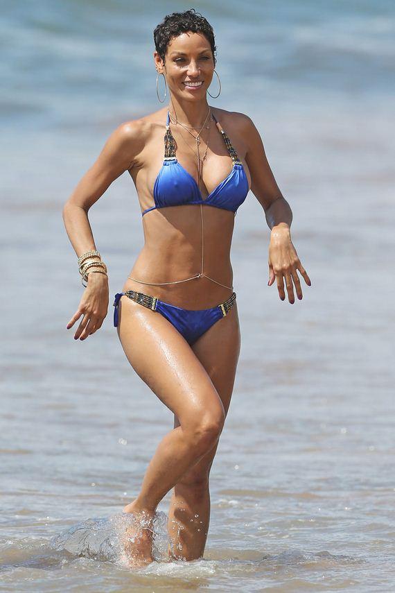 Nicole Murphy in a bikini