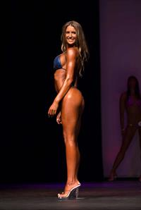 Danica Thrall in a bikini