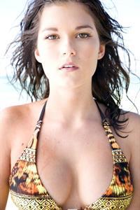Chloe Chapman in a bikini