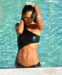 Nicole Scherzinger in a bikini