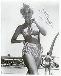 Jane Powell in a bikini