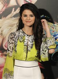 Selena Gomez Spring Breakers photocall in Madrid 2/21/13