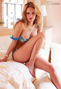 Julie Ordon in a bikini