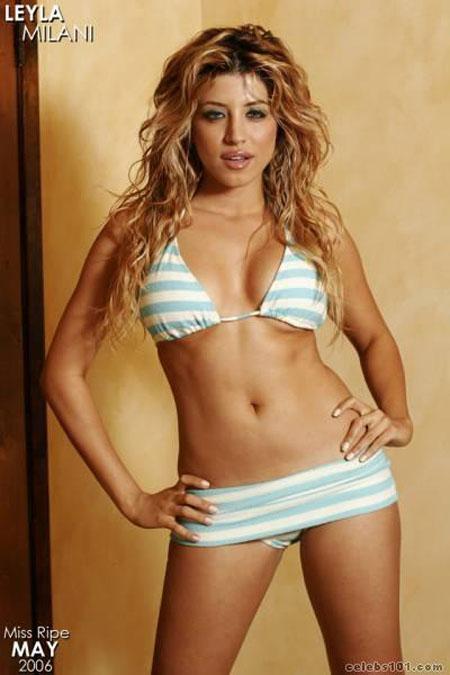 Leyla Milani in a bikini