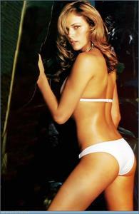 Amanda Righetti in a bikini - ass