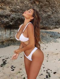 Adèle Grisoni in a bikini