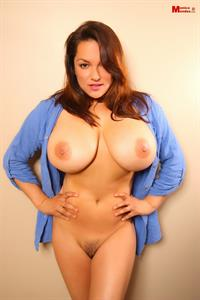 Gorgeous Monica Is So Pretty to Show Her Natural Wonder Big Tits