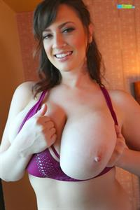 Lana Kendrick Teasing With Her Pretty Face and Big Juicy Titties