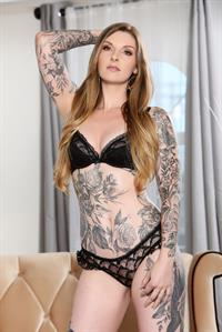 Penny Archer in lingerie