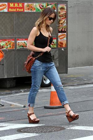 Olivia Wilde in New York City - April 10, 2013