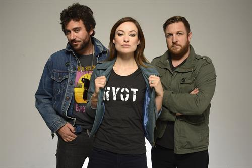 Olivia Wilde at Tribeca Film Festival Portrait Studio - Day 4 - April 22, 2013