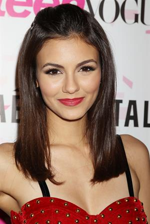 Victoria Justice Teen Vogue 10th anniversary in NY 2/7/13