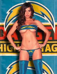 Kylie Page in a bikini