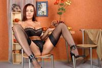 Inessa Edelveis in lingerie