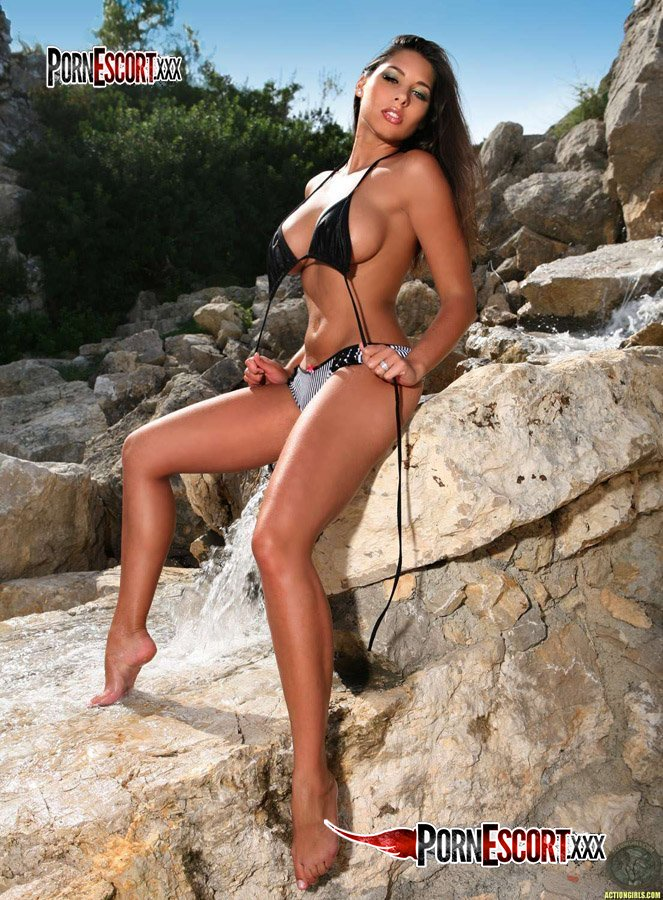 Zafira in a bikini