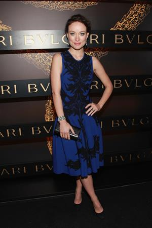 Olivia Wilde Bulgari Celebrates Icons Of Style: The Serpenti - 5th Avenue - New York City - February 9, 2013