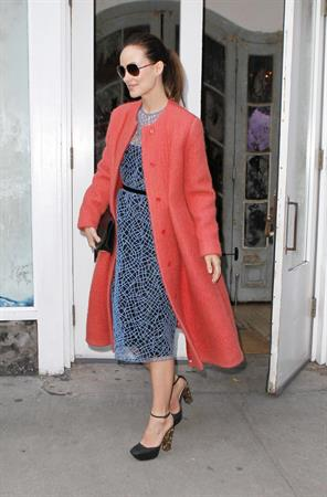 Olivia Wilde out in New York City - February 14, 2013 (Valentine's Day)