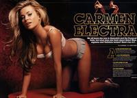 Carmen Electra in lingerie