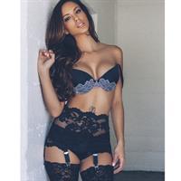 Melissa Riso in lingerie