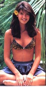 Phoebe Cates in a bikini